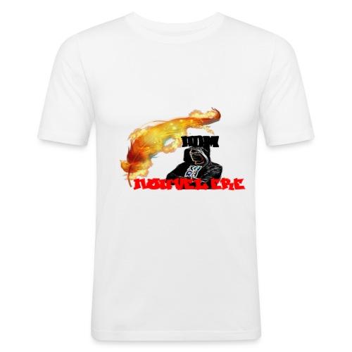 pub tee shirt nouvel ere - T-shirt près du corps Homme