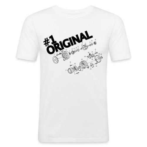 Alt A - Original Alternator - Men's Slim Fit T-Shirt