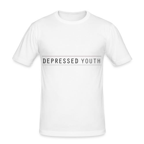 Depressed Youth - Männer Slim Fit T-Shirt