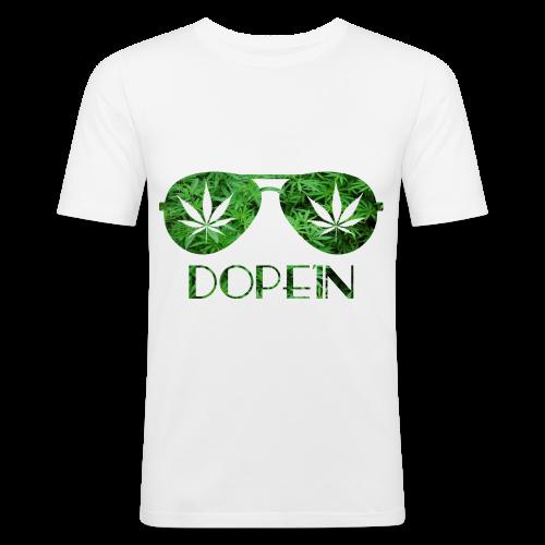 DOPEIN - Weed Sunglasses - Männer Slim Fit T-Shirt