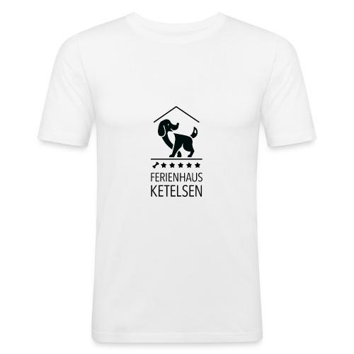 Ferienhaus-Ketelsen - Männer Slim Fit T-Shirt