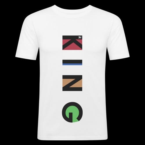 K I N G - Männer Slim Fit T-Shirt