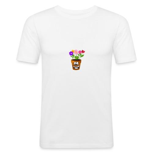Pot logo less detail - slim fit T-shirt