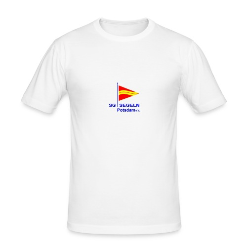 LOGO SGS - Männer Slim Fit T-Shirt