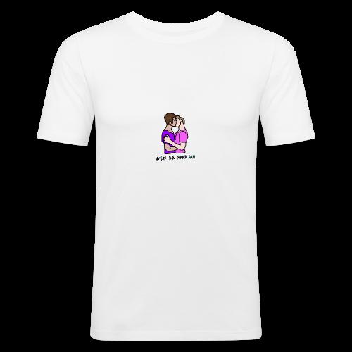 Wen er maar aan gozers - slim fit T-shirt