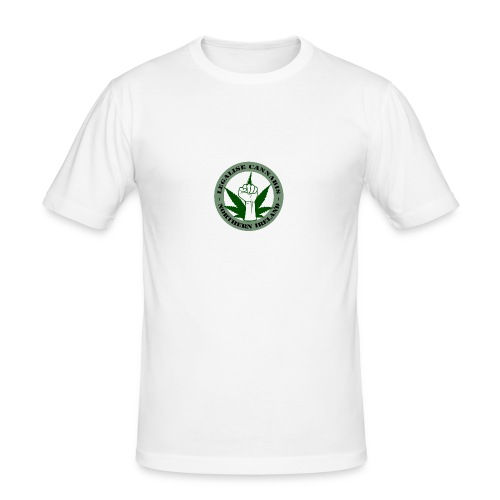 Legalise Cannabis - Northern Ireland - Men's Slim Fit T-Shirt
