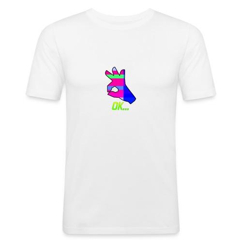 Ok... - Men's Slim Fit T-Shirt