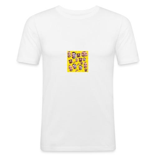 ciccio invader - Maglietta aderente da uomo