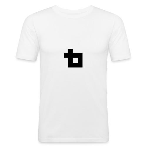 Lunatics logga,svart - Slim Fit T-shirt herr
