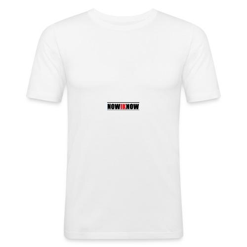 nowIKnow - Men's Slim Fit T-Shirt