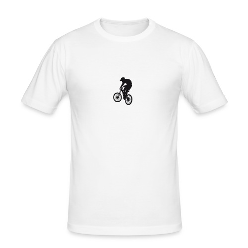 stickers bmx - T-shirt près du corps Homme