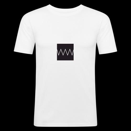 doubledoubleu white - Maglietta aderente da uomo