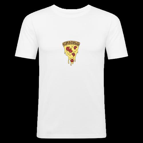 Pizza - Men's Slim Fit T-Shirt