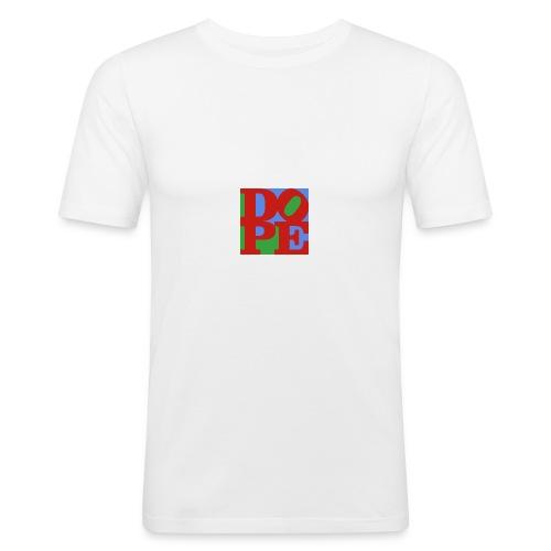 LOVE DOPE - Männer Slim Fit T-Shirt