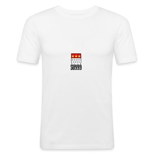 50999 über der Brust - Männer Slim Fit T-Shirt