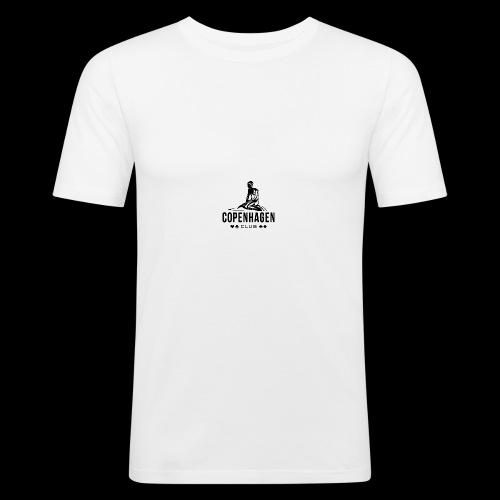 COPENHAGEN CLUB - Männer Slim Fit T-Shirt