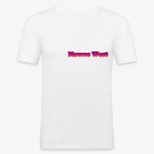nawrewest - T-shirt près du corps Homme