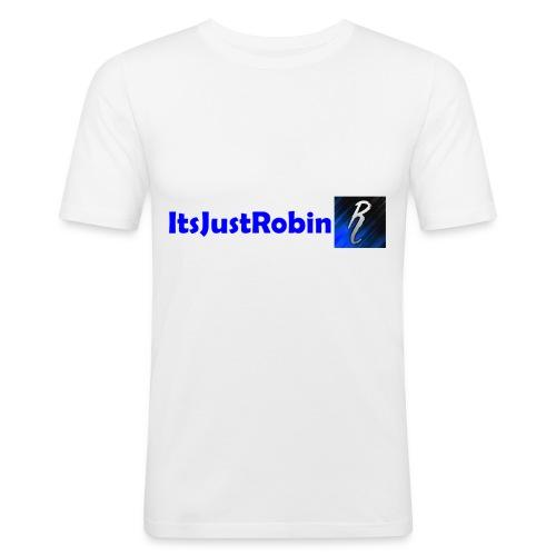 Eerste design. - Men's Slim Fit T-Shirt