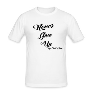Never Give Up By OverDrive - Camiseta ajustada hombre