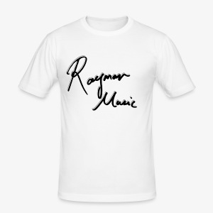 Exclusive Signed White Edition - Slim Fit T-skjorte for menn