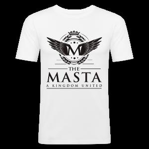 Die MASTA - Ein Königreich United / Full Logo - Männer Slim Fit T-Shirt