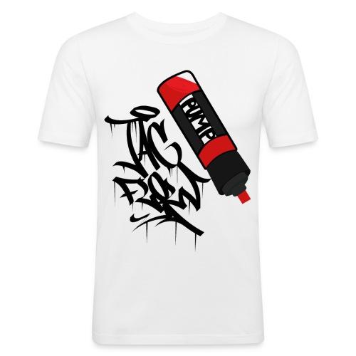 tag flow - Männer Slim Fit T-Shirt