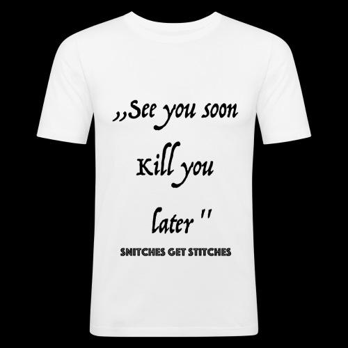 Haters - Männer Slim Fit T-Shirt