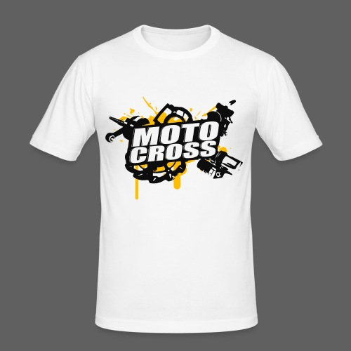 Motocross Supermoto Enduro Vol.I - Männer Slim Fit T-Shirt