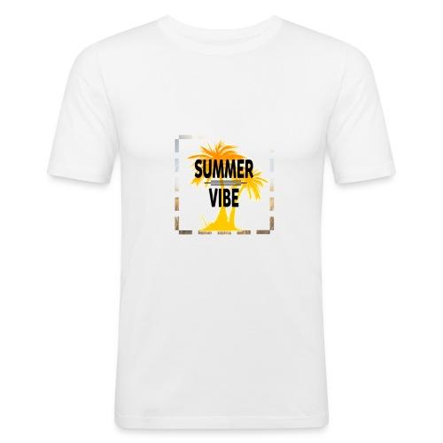 Summer Vibe ( Sommer Stimmung) - Männer Slim Fit T-Shirt