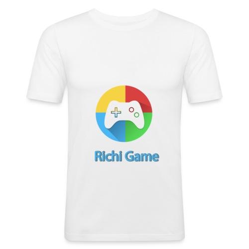 richi game magliette - Maglietta aderente da uomo