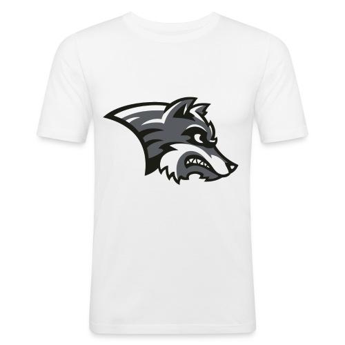 Wolf-Shirt by Noi & weiteren Anonymen Leuten - Männer Slim Fit T-Shirt