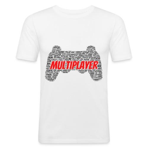 GAMER PAD - Obcisła koszulka męska