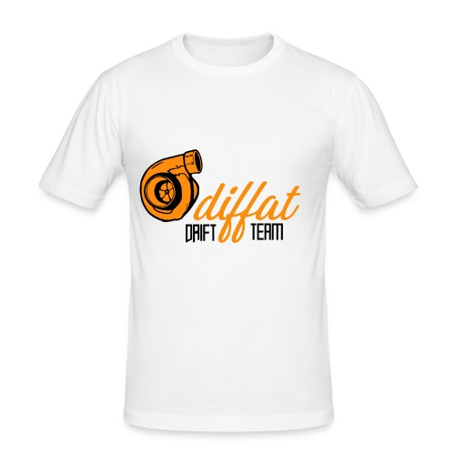 Odiffat Drift Team - Slim Fit T-shirt herr