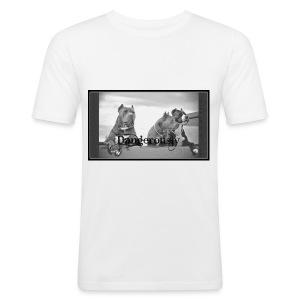 xPitbullx - Männer Slim Fit T-Shirt