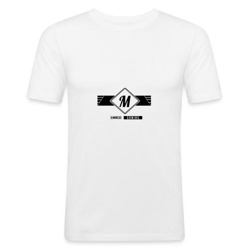 DJMarcus-Gaming - Männer Slim Fit T-Shirt
