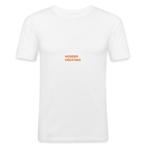 Hodder Creating Orange - Men's Slim Fit T-Shirt