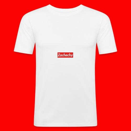 Zachechy RED - Männer Slim Fit T-Shirt