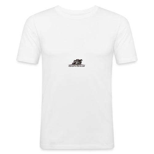Logo-cuadrat-redone-png - Camiseta ajustada hombre