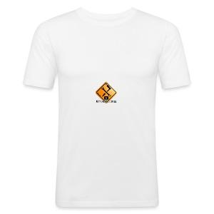 M1Molter Logo - Männer Slim Fit T-Shirt
