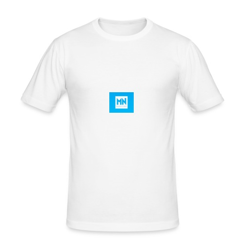 Monopoly box logo - Männer Slim Fit T-Shirt