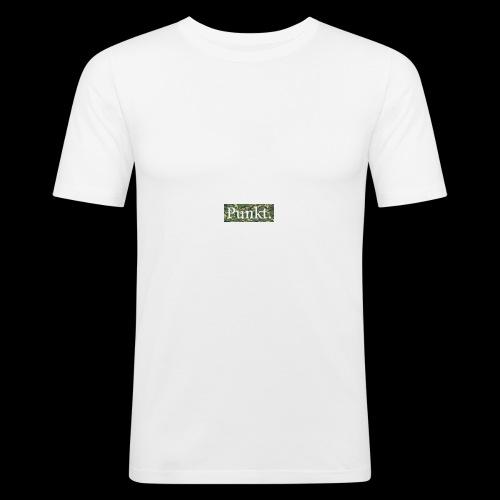 Punkt. - Männer Slim Fit T-Shirt