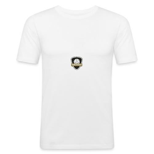 fodboldfreak logo - Herre Slim Fit T-Shirt