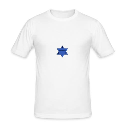 DAS first logo - Herre Slim Fit T-Shirt