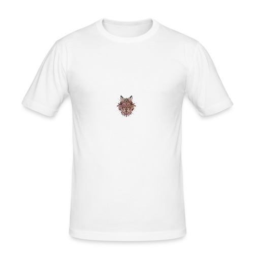 TIGR Logo - Men's Slim Fit T-Shirt