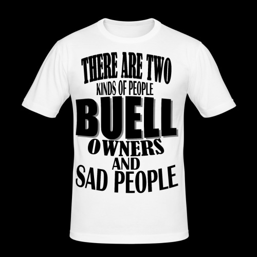 Two Kind of People - Slim Fit T-shirt herr
