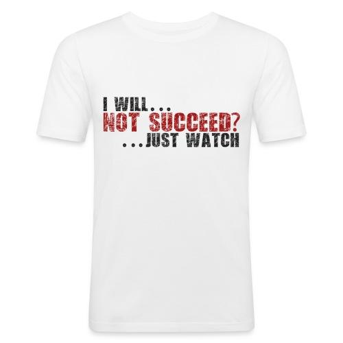 Just Watch! - Men's Slim Fit T-Shirt