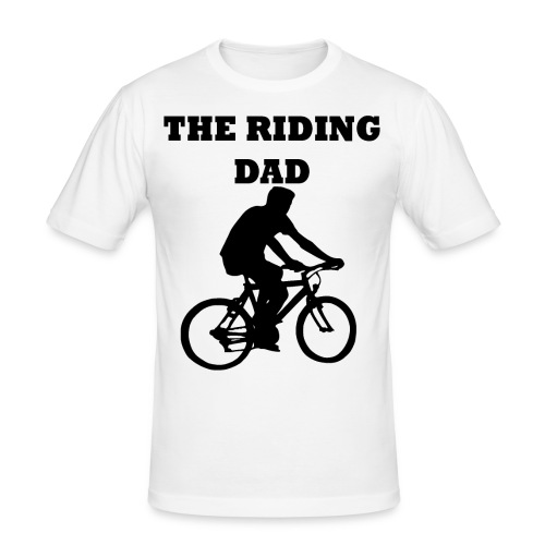 The riding dad T-Shirt - Männer Slim Fit T-Shirt