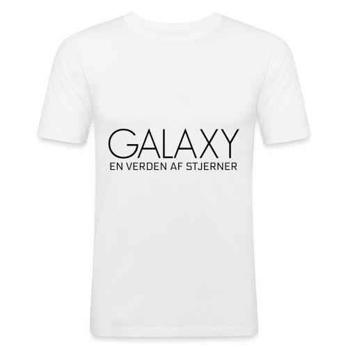 En verden af stjerner - Herre Slim Fit T-Shirt