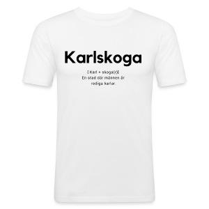 Karlskoga - Slim Fit T-shirt herr