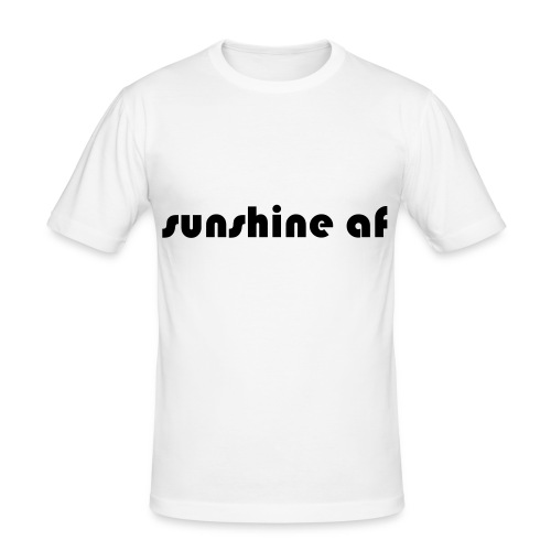sunshine af - Männer Slim Fit T-Shirt